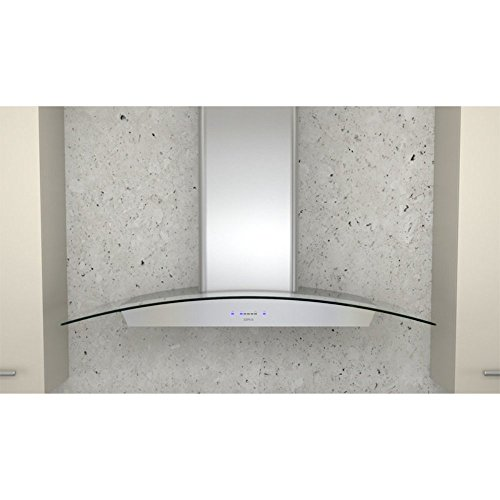 "Essentials Ravenna 36"" 600 CFM Wall Mount Range Hood in Stainless Steel"