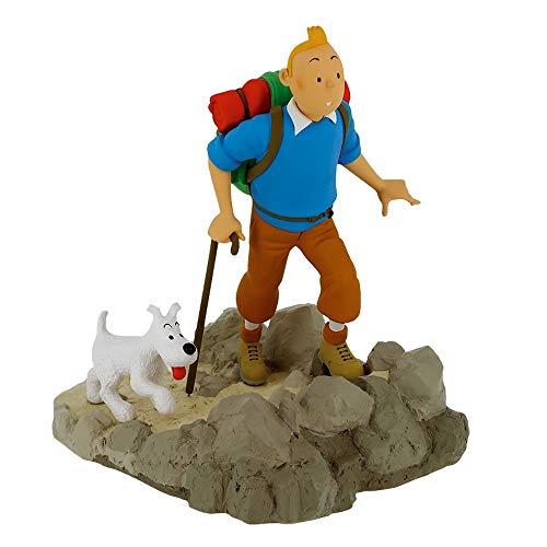 Moulinsart Figura de colección Tintín Excursionista con Milú (2020)
