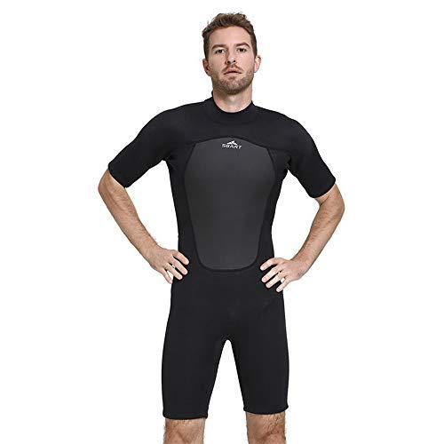 NCBH Wetsuit Mannen Houd Warm Mode Surf Kleding Outdoor Slim Fit Zonnebrandcrème Zwemkleding Duurzame Duikpak Geschikt voor Onderwater Beweging 2 MM