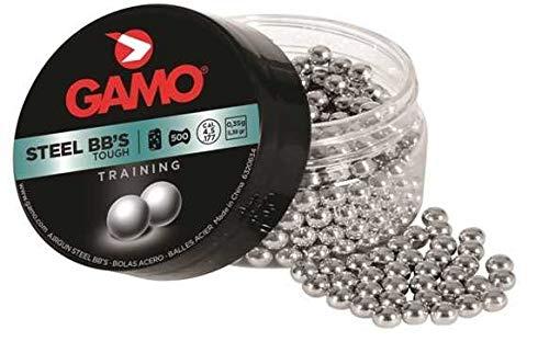 Gamo 6320634 - Bolas De Acero BB'S 500 Cal 4,5 - Cal: 4,5
