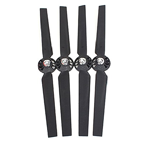 2 Pairs Propellers Rotor Blade Sets A and B Black for YUNEEC Typhoon G Q500 Q500+ Q500 4K RC Quadcopter Drone by lanlan