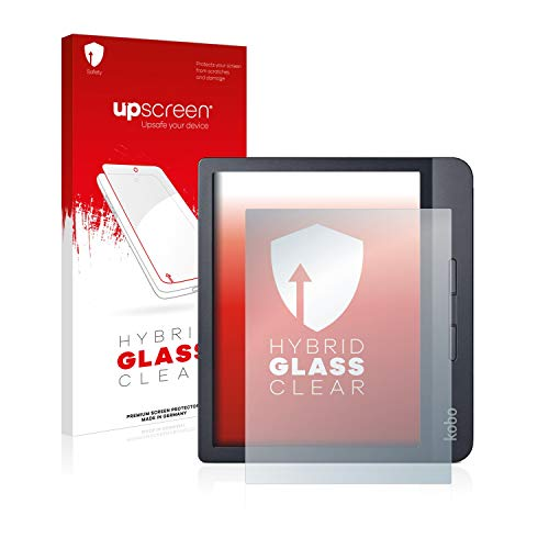 upscreen Hybride Beschermfolie Screenprotector compatibel met Kobo Libra H2O – Beschermglas 9H hardheid, antikras, anti…