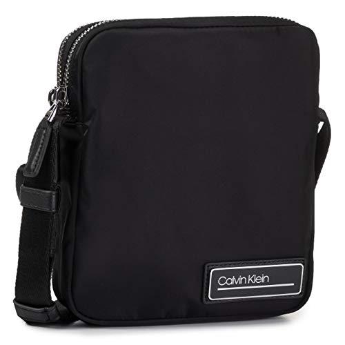 Calvin Klein Primary Mini Reporter - Borse a spalla Uomo, Nero (Black), 1x1x1 cm (W x H L)