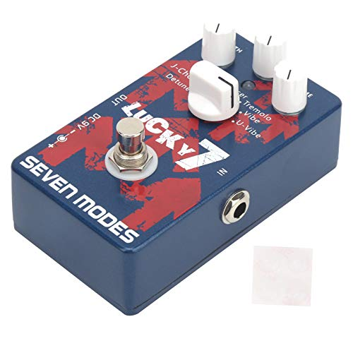 Effect Pedal, 7 Modes Pedal Modulation Effect with Effect Pad for Guitar Accessory for Guitar