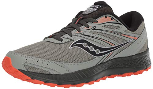 Saucony mens Cohesion Tr13 Trail Running Shoe, Desert/Pine/Orange, 9.5 US