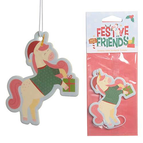 Christmas Cookie Festive Friends Unicorn Air Fresh