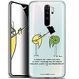 Caseink Coque pour Xiaomi Redmi Note 8 Pro (6.5) [Licence Officielle Collector Les Shadoks® Design...