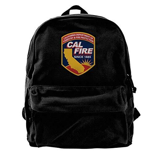 Yuanmeiju Mochila de Lona Cal Fire Southern California Strong Mochila...