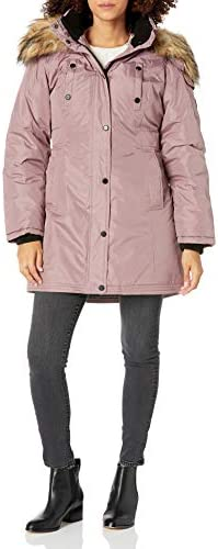Steve Madden Women s Parka Dusty Pink M product image