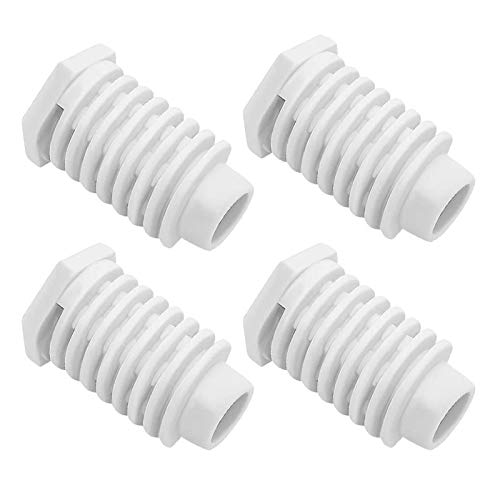 49621 AP4295805 Dryer Leveling Leg Foot Feet by Beaquicy - Replacement For Whirlpool Ken-more Dryer - Pack of 4
