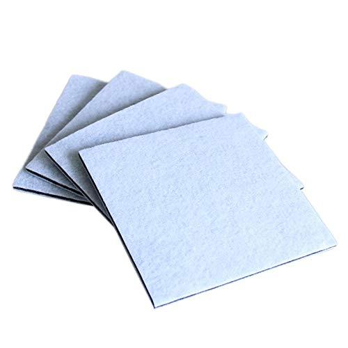 QUJJP Accesorios para aspiradoras Filtro de algodones Accesorios Protección 150 * 150 mm Aspiradora Blanca efectiva Filtros