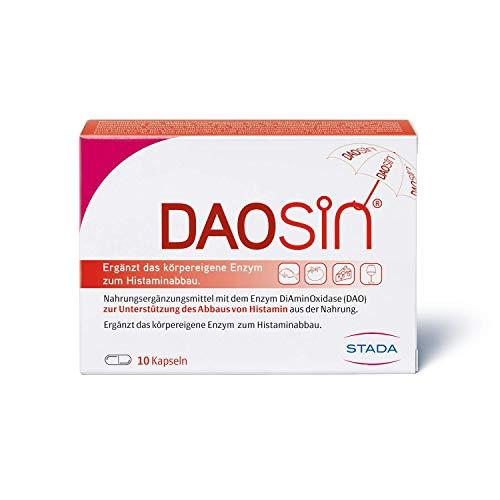 DAOSiN - magensaftresistente Kapseln mit Diaminoxidase Enzym - 1 x 10 Kapseln
