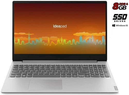 Notebook Lenovo Silver 8 Gb DDR4, SSD Da 256Gb Cpu Amd A4 Fino A 2,6GHz In Burst Mode, Display Hd Da 15,6 Pollici, Web Cam, 3Usb, Hdmi, Bt, Win10 Pro, Office 2019, Pronto All'Uso, Garanzia Italia