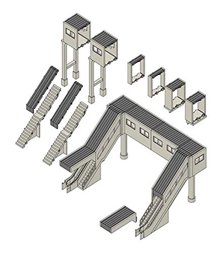 TOMIX Nゲージ マルチ跨線橋セット 4074 ジオラマ用品