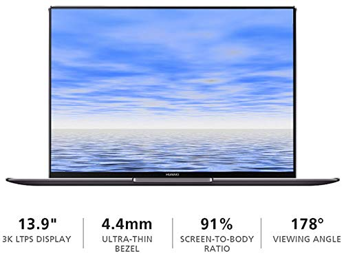 Huawei MateBook X Pro i5 SSD 13.9' 3K(3000x2000) Touchscreen Laptop Computer 2018 Newest, Intel Core i5 8th Gen up to 3.4 Ghz(Beat i7-7500U), 8 GB DDR4, 256 GB SSD, WiFi, Bluetooth, Windows 10