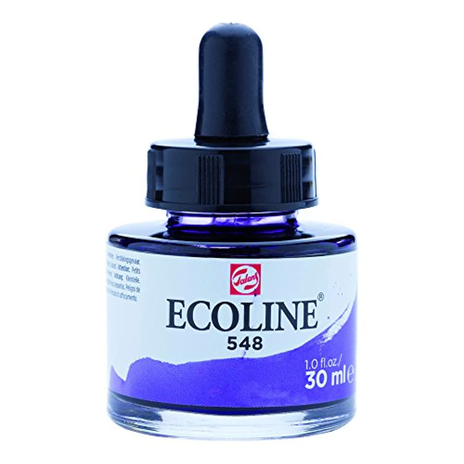 Ecoline Liquid Watercolor 30ml Pipette Jar - Blue Violet (11255481)