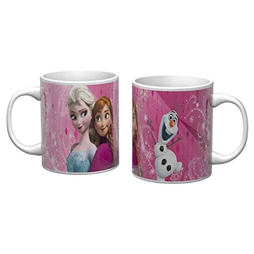 Star Copa in cerámica Mug - Frozen Elsa Anna Olaf Disney - 310 ml. - 60980