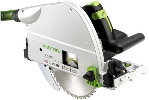 Festool - Scie circulaire filaire plongeante ts 75 ebq-plus fs -