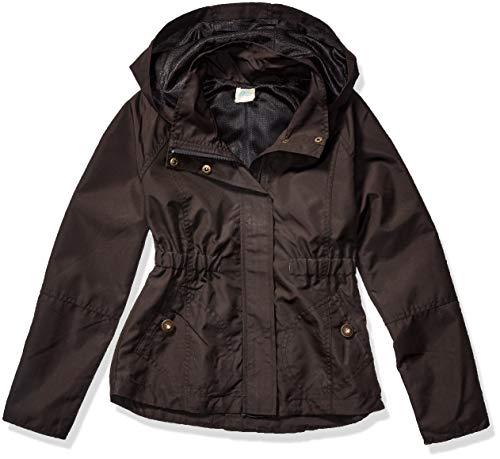 O'Neill Mädchen Windy Jacket Regenjacke, schwarz, Mittel
