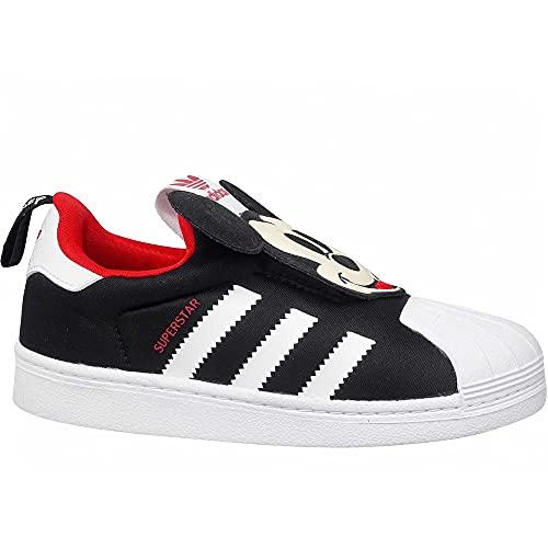 adidas Superstar 360 I, Zapatillas de Deporte para Niño, Negro , 24 EU