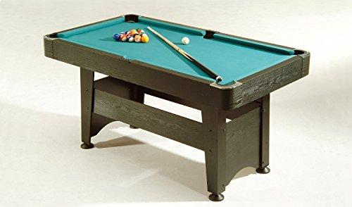 Billardtisch Chicago 4ft., Poolbillard, schwarz, 155 x 85