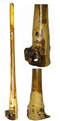 GREAT ADDITION TO ANY DECOR PERFECT FOR KIDS OR ADULTS ABSOLUTELY BEAUTIFUL AND DETAILED Awesome for tiki bars 60-61 INCHES TALL!!! you will get the pictured didgeridoo. Please look at pictures closely.