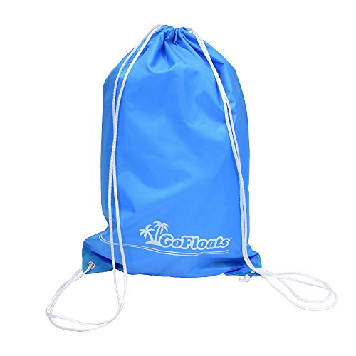 GoFloats Universal Tote Bag/Float Kit with 2 Raft Repair Kits and Grab Rope - Must Have for Giant...