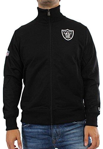 NEW ERA Supporter Track Jacket Men–Oakland Raiders–Black negro small