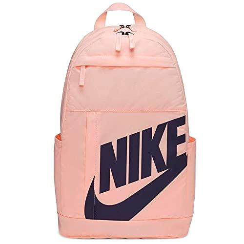 NIKE Sportswear Elemental, Mochila Unisex Adulto, Crimson Tint/Crimson Tint/Dark Raisin, Einheitsgröße