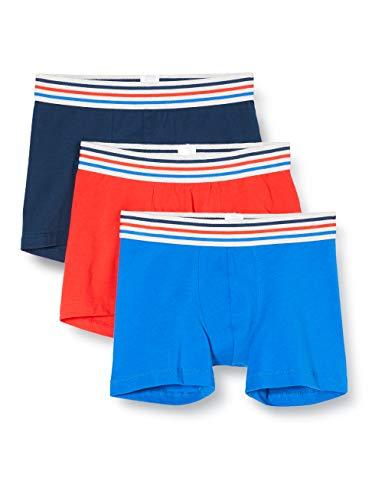 Schiesser Jungen 3PACK Shorts - Mehrfarbig 6 - Größe 176