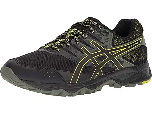 Asics Chaussures Gel-Sonoma 3 pour Homme, 39 EU, Black/Sulphur Spring/Black