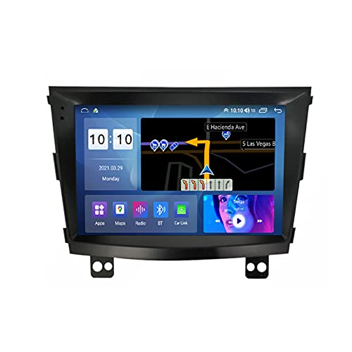 ADMLZQQ for SsangYong Tivolan 2014-2017 Autoradio 2 DIN Apple Carplay 9'' Android Car Radio Touchscreen RDS Backup Camera GPS Plug And Play 5G WiFi SWC Support DVR/Dab+/OBDII ETC,M500s