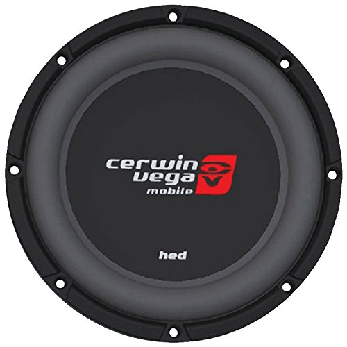 "Cerwin-Vega HS122D Hed Dvc Shallow Subwoofer (12"", 2ohm), Black"