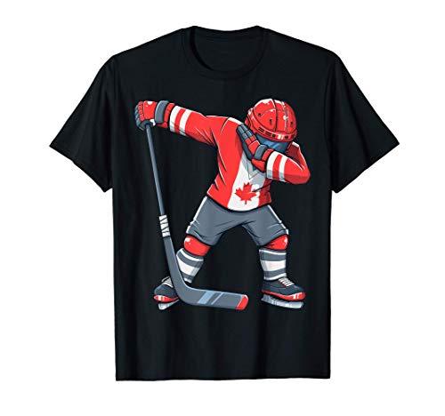 maglia hockey Abbigliamento Hockey su ghiaccio Canada Flag Maglietta