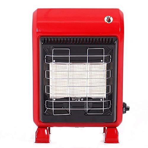 Dormitorio Gas Licuado rápido licuado de gas caliente Baño Calentador de gas, 3 archivos, la placa de cerámica Calefacción, cubierta Estufa de Gas Natural Calefacción (Sin Tanque de gas) 4200W de suel