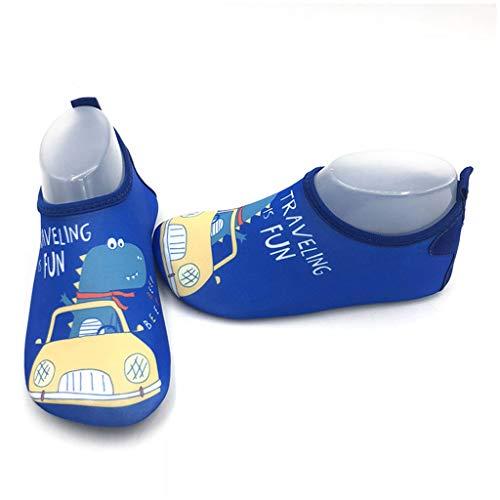 Vast Zapatos de agua de verano para niños, sandalias de playa Upstream Aqua zapatos para niñas de secado rápido River Sea Pantuflas de buceo (tamaño: 30-31 (16.5 cm-17.5 cm), color: color 01)