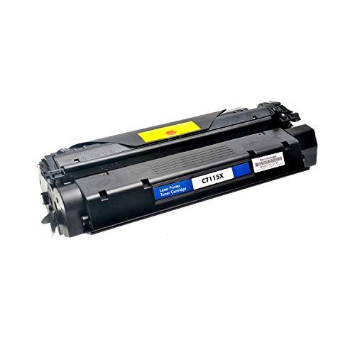 Logic-Seek Toner kompatibel zu HP C7115X 15X Laserjet 1000 1200 Serie - Schwarz, 4.000 Seiten