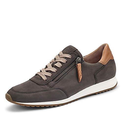 Paul Green Damen Super Soft Sneaker, Frauen sportlicher Schnürer, Freizeit leger schnürschuh strassenschuh Sneaker Derby,Grau,6.5 UK / 40 EU