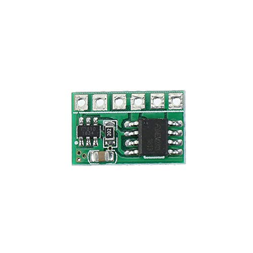 LICHONGUI 5 unids IO15B01 6A DC 3V 3.3V 3.7V 5V Interruptor electrónico Pestillo BISTABLE Auto-Bloqueo Tablero de módulo de Control de Motor LED Batería de Litio Solar