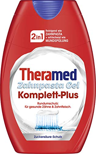 Theramed 2in1 Complete plus Zahncreme, 3er Pack (3 x 75 ml)