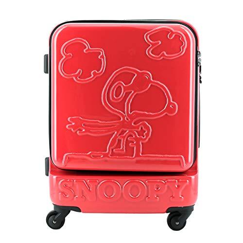 [スヌーピー] スーツケース ピーナッツ 38L 47cm 3.6kg PN-014 ピンク