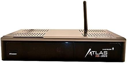 Cristor ATLAS HD-200S - Receptor de TV por satélite (WiFi,