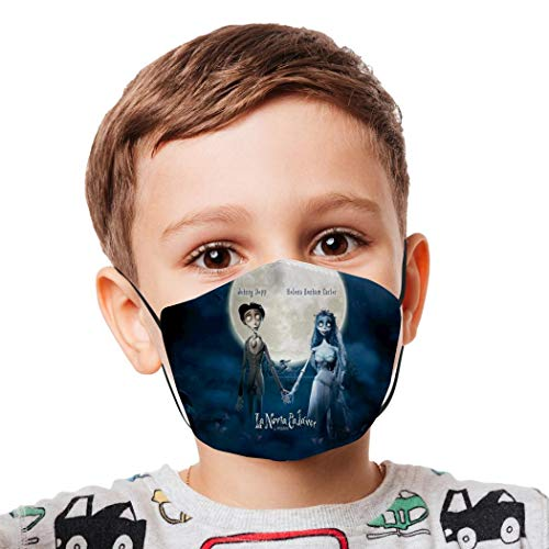 Love Cartoon Breathable Adjustable Respirator Mask Anti-Smoke Face Scarf for Child and Teens Student Outdoor