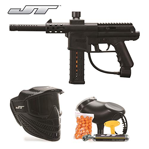 JT DL9 RTP .68Cal Paintball Kit Includes Raptor Goggle, 90G Co2 Tank,...