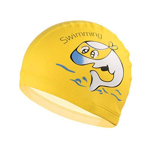 Gogokids Cuffia Piscina, Bambini Cuffia Nuoto per la Cura dei Capelli e della Protezione dell'Orecchio
