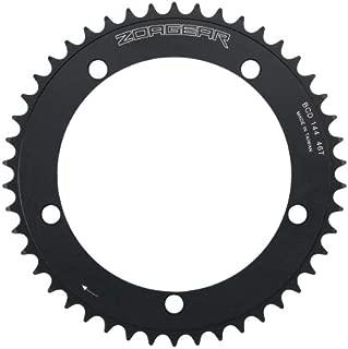Zoagear Single Speed Chainring 144 BCD 46 Teeth Fixed Gear Bike - Black