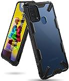 Ringke Fusion-X Diseñado para Funda Samsung Galaxy M31 (2020), Transparente al Dorso Carcasa Galaxy M31 6.4