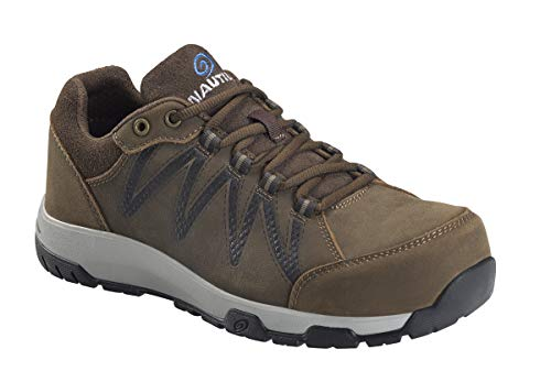 Nautilus 2491 Men's Volt Leather Slip Resistant ESD Work Shoe - Carbon Safety Toe