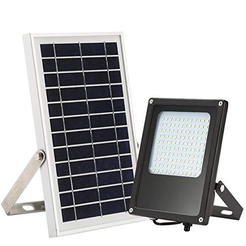 Candybarbar Tipo Dividido PIR Sensor de Movimiento Control Remoto 6W 120 LED Energía del Panel Solar Lámpara de luz de Techo LED para Interiores y Exteriores