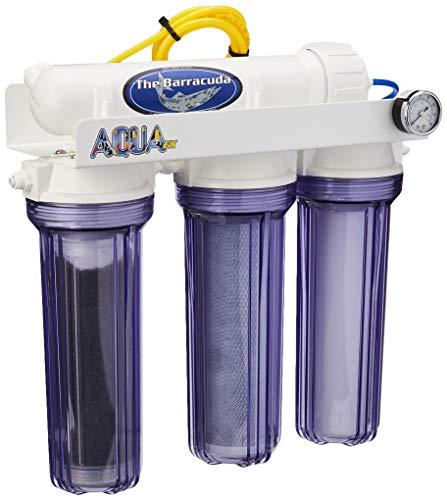 AquaFX Barracuda RO/DI Aquarium Filter, 50 GPD